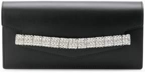 Calvin Klein embellished envelope clutch