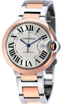 Cartier Ballon Bleu De Guilloche Dial Automatic Men's Watch