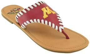 NCAA Women's Minnesota Golden Gophers Stitched Flip-Flops