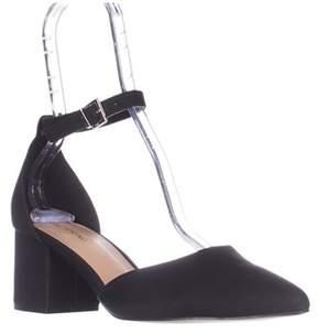 Call it SPRING Trivio Ankle Strap Block Heel Sandals, Black.