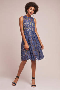 Donna Morgan High-Neck Lace Dress