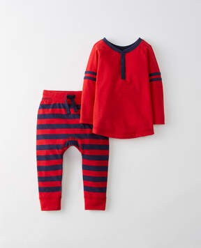 Hanna Andersson Sueded Jersey Tee + Pant Set