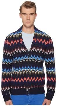Missoni Loom Knit Chevron Sweater Men's Sweater