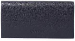 Longchamp Women's Le Foulonne Leather Continental Wallet - RED - STYLE