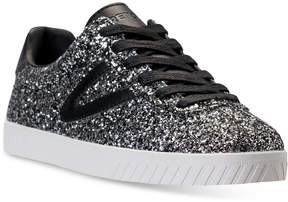 Tretorn Women's Camden 5 Glitter Casual Sneakers from Finish Line