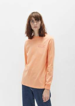 Martine Rose Classic Long Sleeve Tee Peach