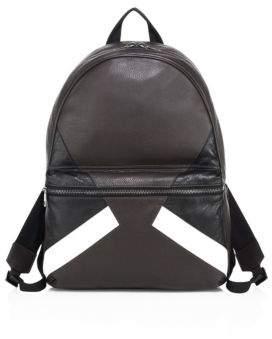 Neil Barrett Retro Modernist Leather Backpack