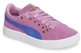 Puma Girl's Suede Xl Lace Vr Sneaker