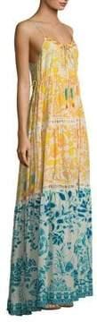 DAY Birger et Mikkelsen Hemant & Nandita Clarion Ombre Silk Maxi Dress