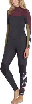 Billabong Salty Dayz 4/3 Chest-Zip Wetsuit