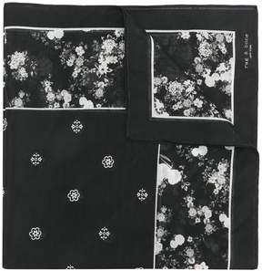 Rag & Bone floral print scarf