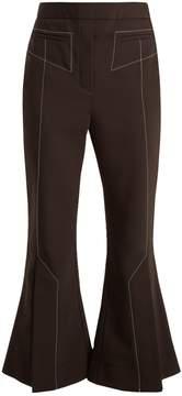 Ellery Align kick-flare wool-blend trousers