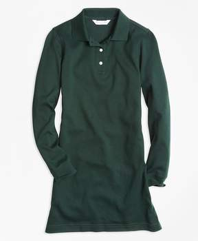 Brooks Brothers Long-Sleeve Polo Dress