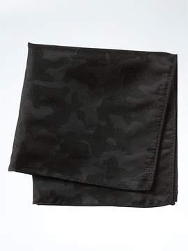 Banana Republic Camo Textured Silk Pocket Square