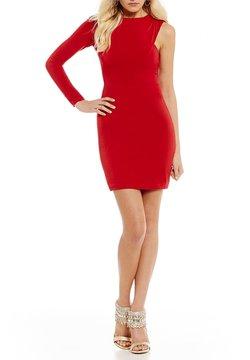 B. Darlin One-Sleeve Sheath Dress