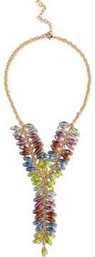Ben-Amun Gold-Tone Multi-Stone Necklace