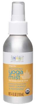 Aura Cacia Organic Motivating Women's Yoga Mist with Sweet Orange and Peppermint - 4oz