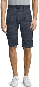 ProjekRaw PROJEK RAW Men's Plaid Cotton Shorts