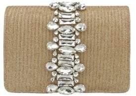 Adrianna Papell Sandi Jewel-Embellished Convertible Clutch