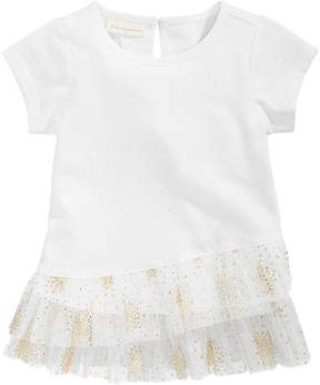 First Impressions Tulle-Hem Tunic, Baby Girls (0-24 months), Created for Macy's
