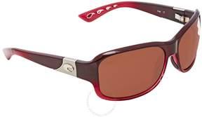 Costa del Mar Inlet Pomegranate Fade Sunglasses IT 48 OCP