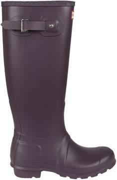Hunter Purple Tall Wellington Rain Boots