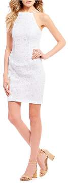 B. Darlin Lasercut Sheath Dress