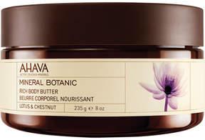 Mineral Botanic Body Butter - Lotus & Chestnut