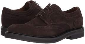 Eleventy Suede Wingtip Lace-Up Men's Lace Up Wing Tip Shoes