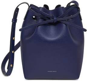 Mansur Gavriel Saffiano Mini Bucket Bag