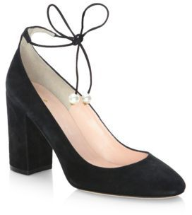 Kate Spade Gena Leather Pumps