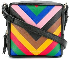 Sara Battaglia striped box bag