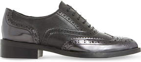Dune Black Fairston patent-leather shoes