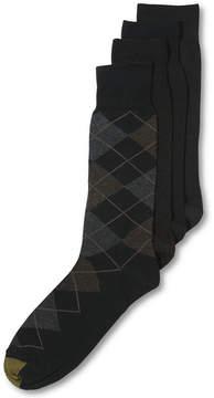 Gold Toe Men's Socks, Dress Argyle 4 Pack, Created for Macy's