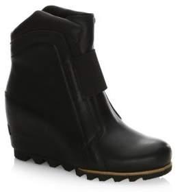 Sorel Fiona Wedge Leather Bootie