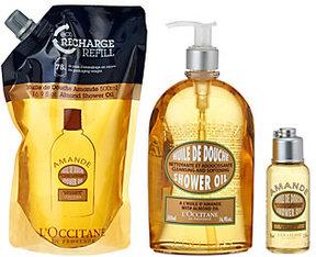 L'Occitane Almond Shower Oil Trio