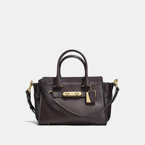 COACH Coach Swagger 27 - LIGHT GOLD/CHESTNUT - STYLE