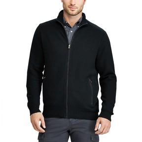 Chaps Men's Classic-Fit Zip-Front Cardigan Sweater