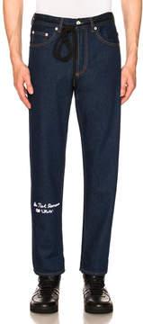 Off-White No Wash Medium 5 Pocket Jeans