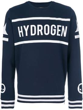 Hydrogen hockey crewneck sweatshirt