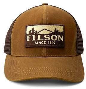 Filson Men's Logger Trucker Hat - Brown