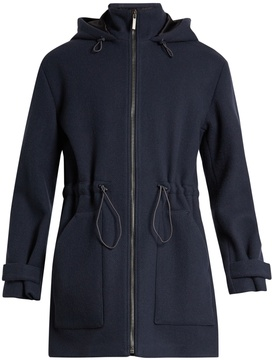 Raey Zip-through wool duffle coat