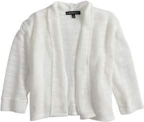 My Michelle Girls 7-16 Open Weave Cuffed Cardigan Sweater