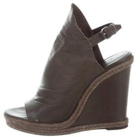 Balenciaga Espadrille Wedge Sandals