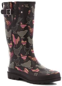 Western Chief Dotty Downpour Women's Waterproof Rain Boots