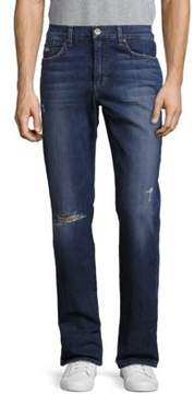 Joe's Jeans Whiskered Five-Pocket Jeans