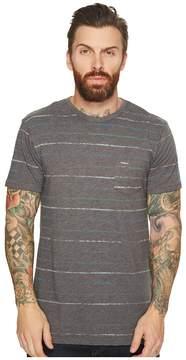 VISSLA Reeler Reverse Printed Short Sleeve Pocket Knit T-Shirt Men's Clothing