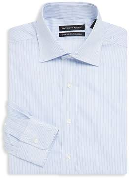 Saks Fifth Avenue BLACK Men's Stripe Cotton Shirt
