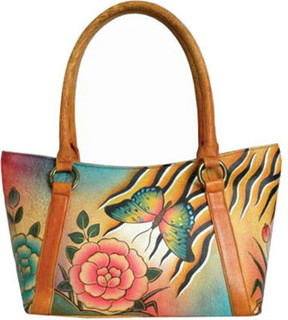 Anuschka Anna By ANNA by Hand Painted Medium Tote 8072 (Women's)