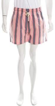 Solid & Striped Striped Swim Shorts w/ Tags